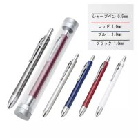 メタリック4アクションペン(ケース付)